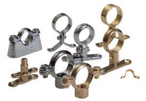Bulk Wholesale Metal Pipe Plumbing Tube Brackets and Supports
